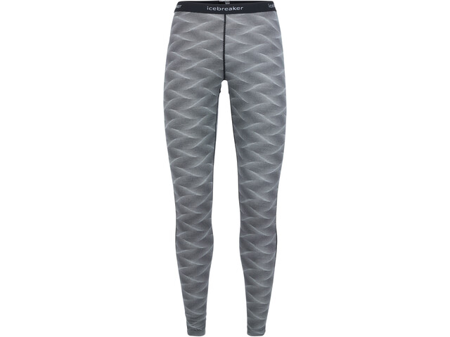 Icebreaker 200 Oasis Curve Leggings Dame black/snow